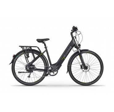 "Elektrinis dviratis EcoBike X-Cross Black 19"""