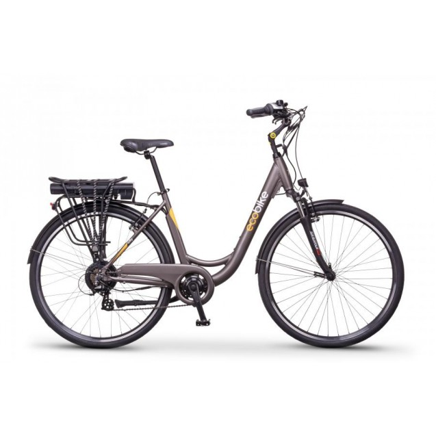 Ecobike City L grey 28